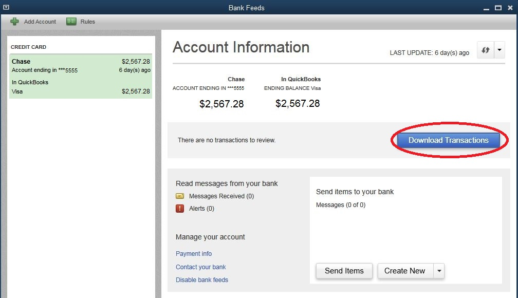 Bank Feeds – Good or Bad? – QuickBooks Accounting